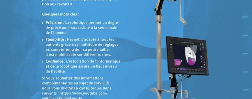 UN ROBOT DERNIÈRE GÉNÉRATION POUR SOIGNER VOS GENOUX !