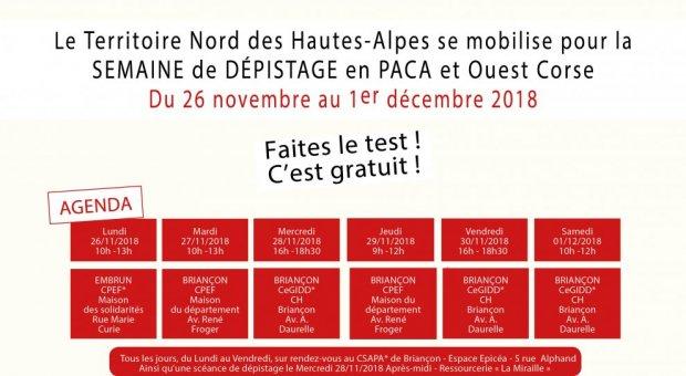 Dépistage MST Territoire Nord Hautes-Alpes